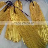 INQUIRY ABOUT Gold bullion wire shining | Spanish smooth thread bright | Caramelo shiny thread