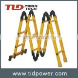 fiberglass FRP insulation double sided step ladders
