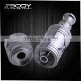 2014 china best e cig suppliers products sbody X-ROCK 510 rda dual coil clearomizer
