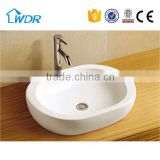 Chaozhou WDR oval counter top ceramic art basin for wholesale                                                                                                         Supplier's Choice