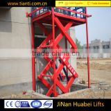 Trade assurance portable fixed electric hydraulic cylinder scissor lift table with CE approved