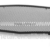 GI-100 Front center black powder coating stainless steel grill grille combo insert grid mesh net