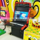 2016 fighting arcade game/video arcade game 47 inch LCD screen coin operated cabinet game machine for sale