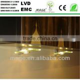 glass aluminium display cabinet led bulb huizhuo lighting