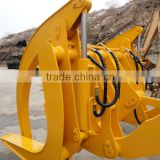 loader Pallet fork wood grapple