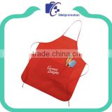 Promotional Customized cooking cotton kitchen apron With Logo                                                                         Quality Choice