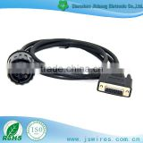 Car System Cable DB 15P TO bmw 10P Female Automotive Diagnostic cable