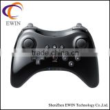 High quality classic wireless Pro game controller for Nintendo WII U/ WIIU black