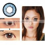 2014 New arrival authentic GEO XCH series 622 blue color cosmetic contact lens made in korea by GEO Medical