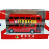 Miniature double decker bus model
