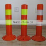 road safety warning plastic sign post on sale