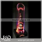 Back bar LED bottle lighting, bottle glorifier, LED bottle display