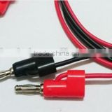 4MM Stackable banana plug test lead with 18AWG PVC Cable 1000V 15AMPS