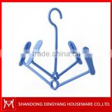 New type mini plastic shoes hanger rack