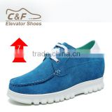 Wholesale Guangdong factory direct round toe suede running shoes /soccer shoes/footwear sports