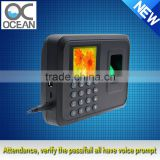 biometric fingerprint reader time attendance and fingerprint time attendance machine price