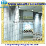 Good stainless steel decorative window curtain
