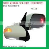 toyota body parts #000481-2 hiace side mirror with indicator light Electric hiace back review mirror electric side mirror hiace