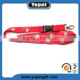 Wholesale Custom Logo Brand Heat Transfer Printed Polyester Lanyards With Compatitive Price