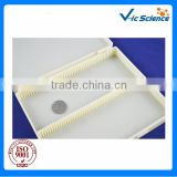 Medical and Science lab consumables 100 pcs prepared slides plastic boxes