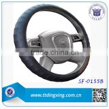 2014 custom 40 size Blue car steering wheel cover for Asia Market auto accessories