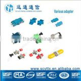 Manufacturer SC/FC/ST/LC/RCA/SMA/E2000 fiber optic light cable adapter with high quality