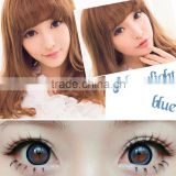 wholesale korean style brilliant 3-tone colored contact lenses magic eyes lenses