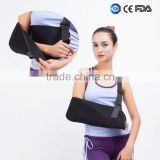 forearm or upper arm injuries/fracture support arm guard mesh arm sling with finger support
