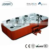 Custom Made Durable & Energy Saving Deluxe Hot Tub with 118 Jets for 8-Person JY8001