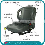China factory price deluxe forklift spare parts toyota forklift driver seat for forklift YY50-2