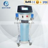 Bestview Laser lose weight without dieting 650nm/980nm double laser body slimming machine