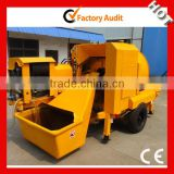 lightweight concrete mixer and pump for 25cbm/h