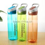 8600ml Custom logo green food grade BPA free sport travel tea maker infuser water bottle with plastic lid