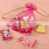 Best Selling Favor Organza Wedding Xmas Gift Bag Pouch