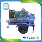 Y&L (China) High Capacity Trailer Mounted Mixed Flow Pump/Trailer Mounted Diesel Pump/Diesel Pump