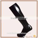 stocking display black muscle male foot mannequin for sale