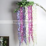 CHY012817 Artificial background wedding hall decoration wisteria flower