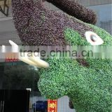 amusement park decoration man made animal statue grass elephant sculpture