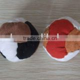 Wholesale cloth soft 5cm bean bag juggling ball