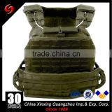 Light weight fashion tactical vest plate carrier for 10*12 inch bulletproof plate military gear tactical vest