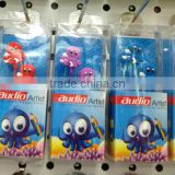 octopus earphones Headphones 3.5MM BASS MP4 MP3 1 earphone