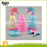 500ML Candy color hand pressure small garden plastic kids watering can