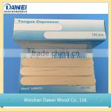 Wooden stick /medical wood tongue depressor