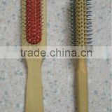 Hair Brushes 8518W, 8543W wooden handle