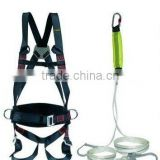 2012 hot sale full body safety belt with CE/clip electrician safety belt/safety back support belt/red,blue,yellow
