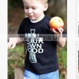 2014 latest summer sea ship printing baby boys breathable t-shirt for kids