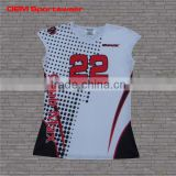 Women sleeveless volleyball jerseys, volleyball uniforms