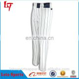mens softball pants wholesale Custom Made dri fit fabric durable sublimation printing striped baseball pants