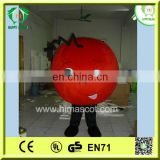 HI hot sale red ball mascot