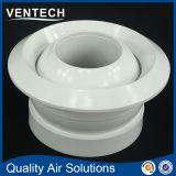 high quality Ventech aluminum air conditoning air flow supply eyeball type round jet diffuser